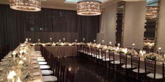 Ivy wedding reception