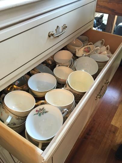 Stunning vintage teacups!